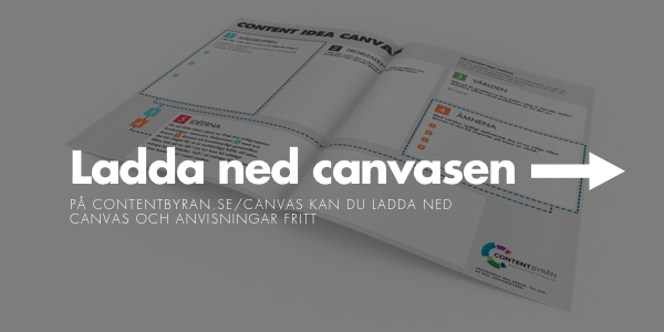ladda ned content idea canvas
