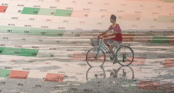 Är du ute och cyklar i dataträsket?