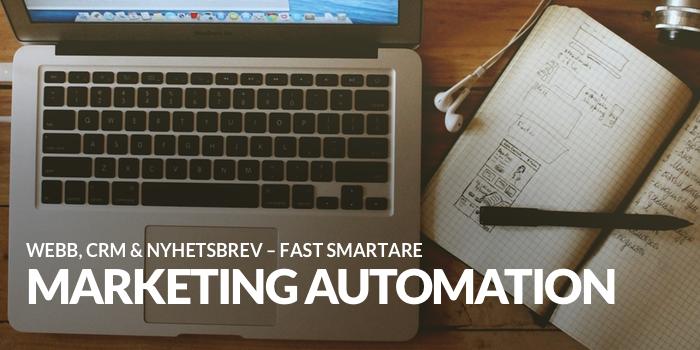 vad är marketing automation